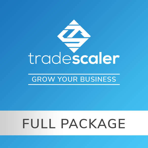 TradeScaler Full Package of Training Videos and Business Planner Software