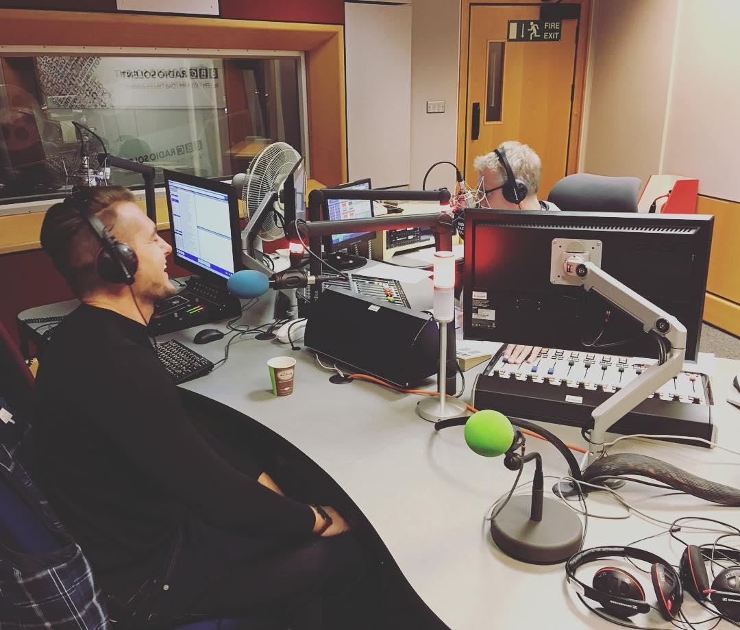 Tom Bunday on BBC Radio Solent
